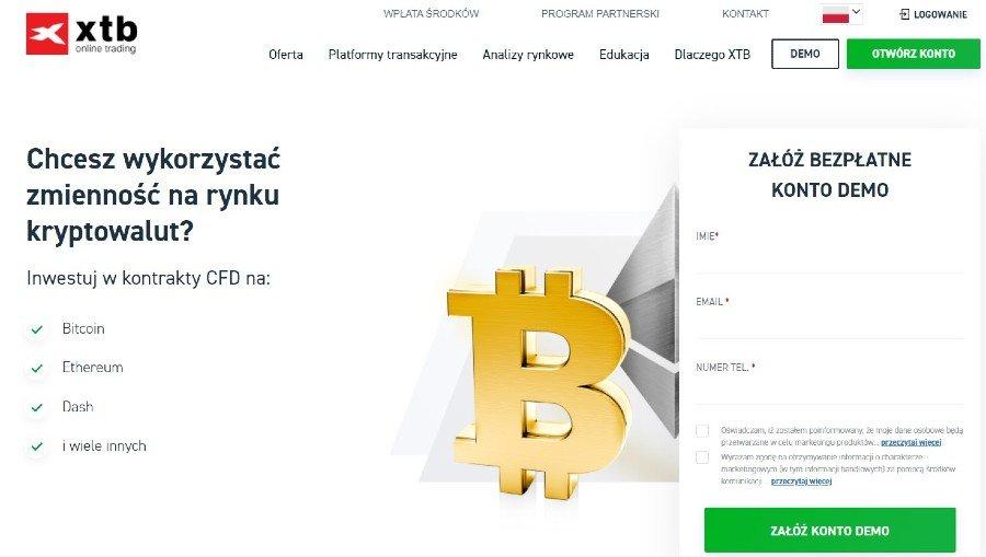 jak kupić kryptowaluty na xtb