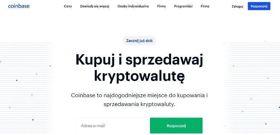 kupowanie kryptowaluty coinbase