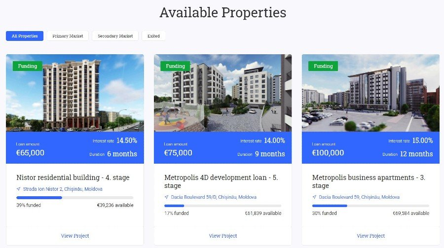 reinvest24 real estate crowdfunding