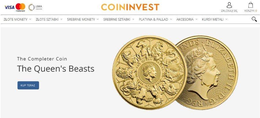 gdzie można kupić złoto coininvest