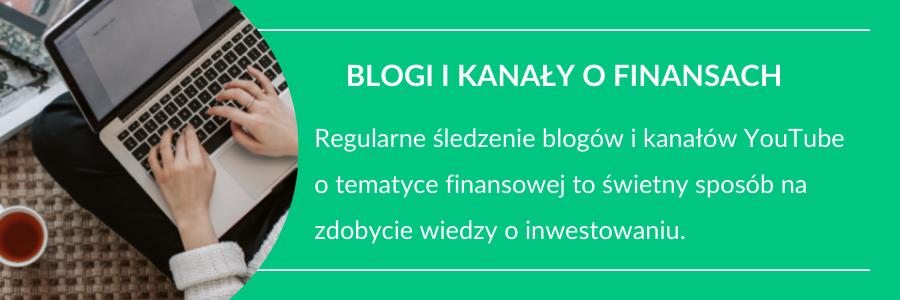 nauka inwestowania blogi o finansach