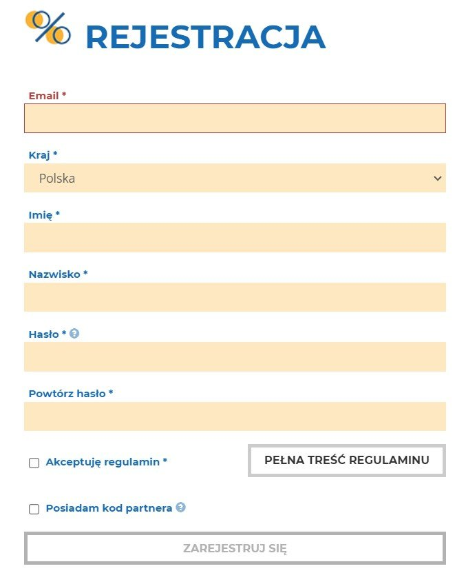 rfl rejestracja