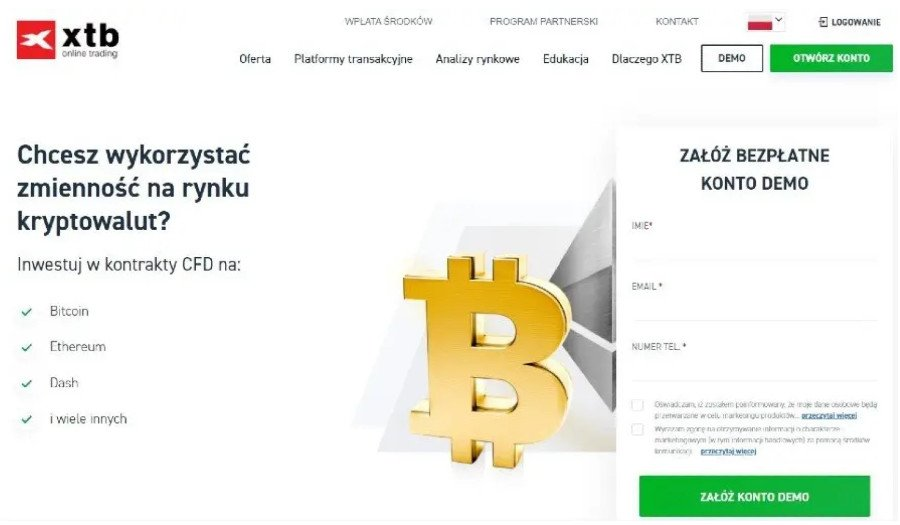 xtb broker kryptowaluty jak kupić bitcoiny